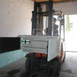 Forklift erabilera anitzeko clamp